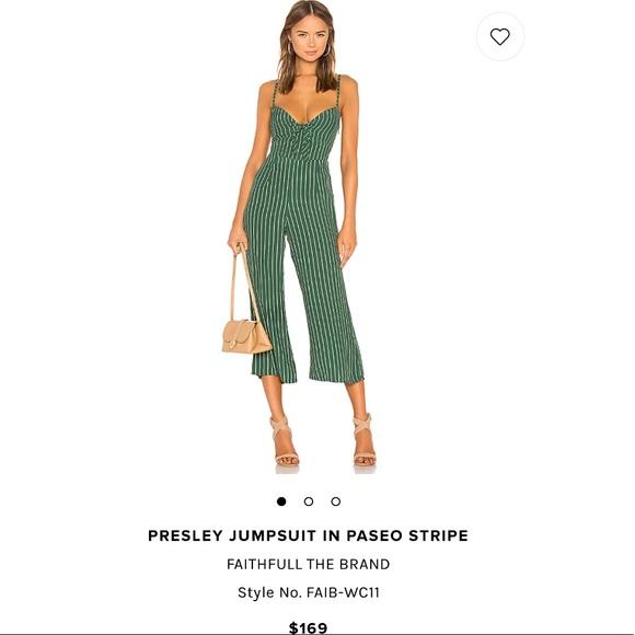 70c6751d27b Faithfull the Brand Pants - REVOLVE PRESLEY STRIPED TIE WIDE-LEG JUMPSUIT